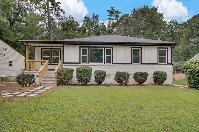 Dekalb County Single Family Home For Sale: 3416 Glen Road