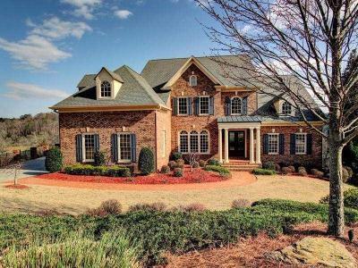 Marietta Single Family Home For Sale: 502 Rivercliff Trace