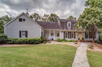 Alpharetta Single Family Home For Sale: 13665 New Providence Road