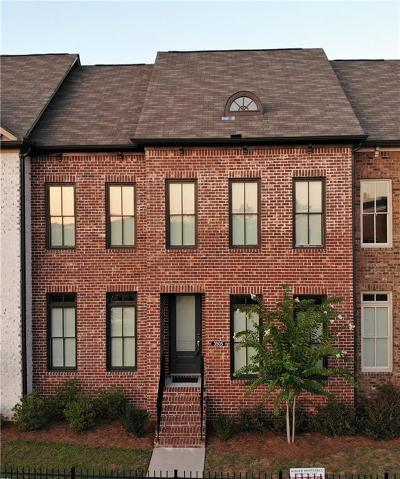 Kennesaw Condo/Townhouse For Sale: 3505 Village Park Way NW #6