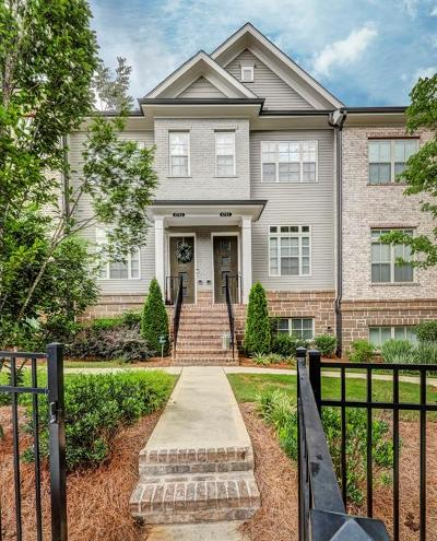 Atlanta Condo/Townhouse For Sale: 4741 Roswell Road
