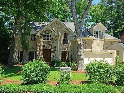 Buckhead Single Family Home For Sale: 3335 Mathieson Drive
