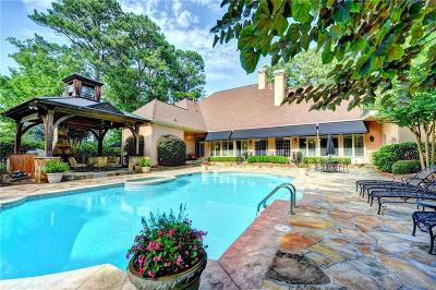 Peachtree City Single Family Home For Sale: 3780 River Mansion Drive
