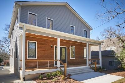 Atlanta Single Family Home For Sale: 176 Howard Street NE
