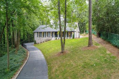 Buckhead Single Family Home For Sale: 4540 Club Valley Drive