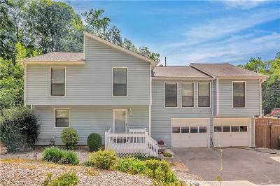 Single Family Home For Sale: 4418 Oak Hill Terrace NE