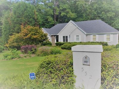 Lithia Springs Single Family Home For Sale: 552 Lexington Court