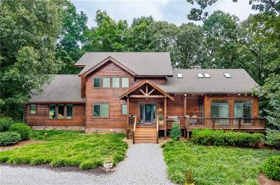 Dawsonville Single Family Home For Sale: 8244 Kelly Bridge Road