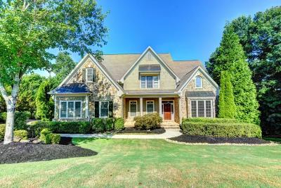 Suwanee Single Family Home For Sale: 3160 Glastonbury Lane