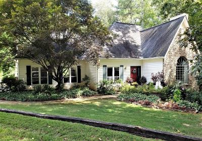 Douglasville Single Family Home For Sale: 5310 Creek Indian Trail