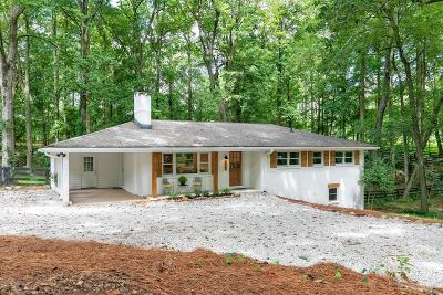 Milton Single Family Home For Sale: 12900 New Providence Road
