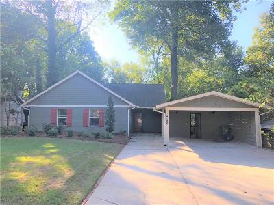 Brookhaven Single Family Home For Sale: 2120 Drew Valley Road NE