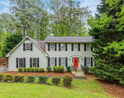 Marietta Single Family Home For Sale: 4290 Post Oak Tritt Road