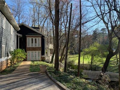 Sandy Springs Single Family Home For Sale: 3390 Spalding Drive