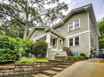 Virginia Highland Single Family Home For Sale: 932 Glen Arden Way NE