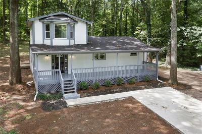 Hiram Single Family Home For Sale: 1596 Hiram Sudie Road