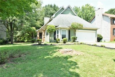 Kennesaw Single Family Home For Sale: 4805 Shallow Farm Drive NE