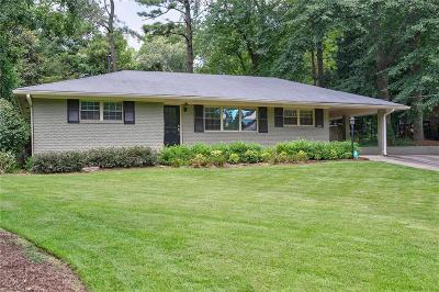 Single Family Home For Sale: 2009 Mercer Road SE