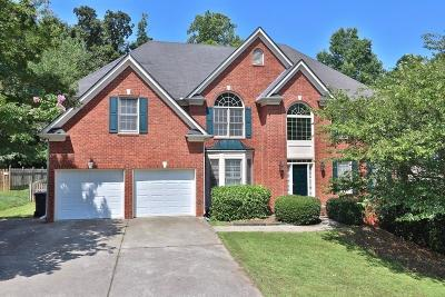 Acworth Single Family Home For Sale: 5527 Hedge Brooke Drive NW