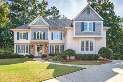 Johns Creek Single Family Home For Sale: 345 Guildhall Grove