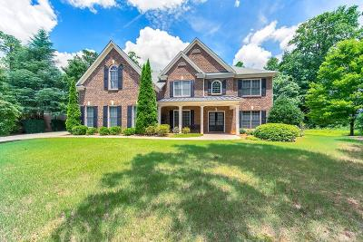 Kennesaw Single Family Home For Sale: 1802 Brackendale Road NW