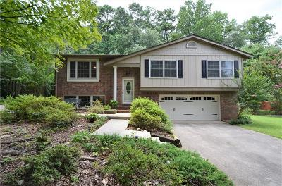 Marietta Single Family Home For Sale: 193 Stone Mill Lane NW