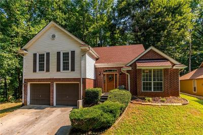 Kennesaw Single Family Home For Sale: 1264 Moorfield Trace NW