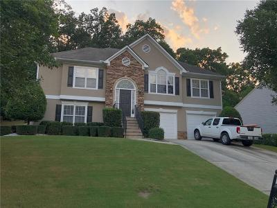 Kennesaw Single Family Home For Sale: 1675 Riverwatch Court NW