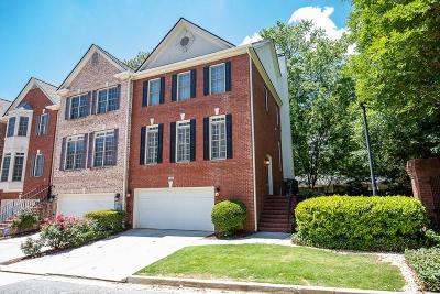 Brookhaven Condo/Townhouse For Sale: 2200 Briarwood Bluff NE