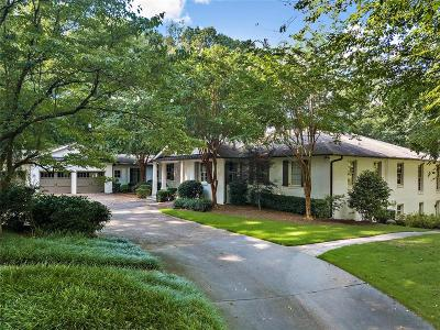 Atlanta Single Family Home For Sale: 539 W Paces Ferry Road NW