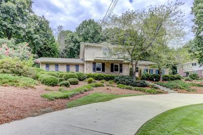 Dunwoody Single Family Home For Sale: 2200 Spring Mill Cove
