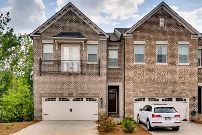 Atlanta Condo/Townhouse For Sale: 1763 Stephanie Trail NE