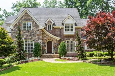 Marietta Single Family Home For Sale: 110 Cherry Hill Drive SE