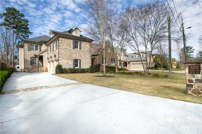 Brookhaven Single Family Home For Sale: 3172 Silver Lake Drive NE