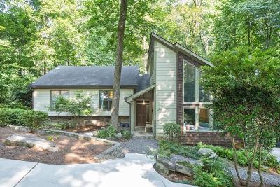 Sandy Springs Single Family Home For Sale: 245 Skyridge Drive
