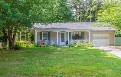 Single Family Home For Sale: 1789 Merry Oak Road SW