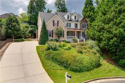 Acworth Single Family Home For Sale: 5405 Hedge Creek Lane NW