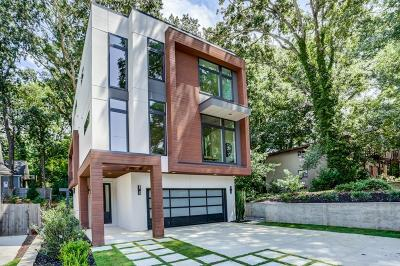 Single Family Home For Sale: 1608 Marlbrook Drive NE