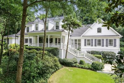 Single Family Home For Sale: 125 Beverly Road NE