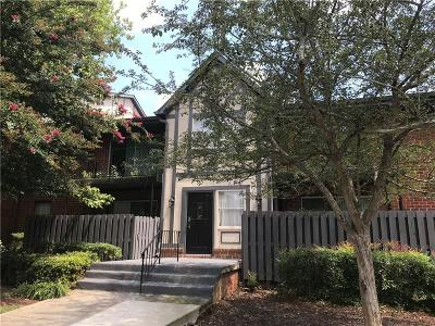 Sandy Springs Condo/Townhouse For Sale: 6851 Roswell Road #O2