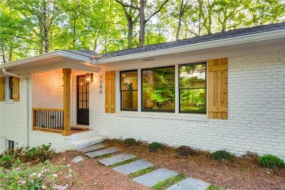Sandy Springs Single Family Home For Sale: 5005 Vallo Vista Court
