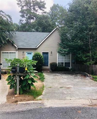 Smyrna Condo/Townhouse For Sale: 5029 David Place SE