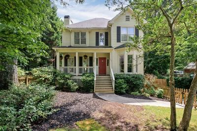 Decatur Single Family Home For Sale: 550 S Candler Street