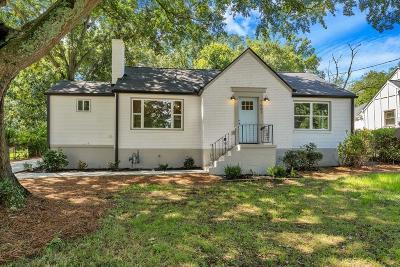 East Atlanta Single Family Home For Sale: 1661 Glenwood Avenue SE
