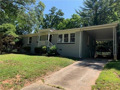 East Point Single Family Home For Sale: 3108 Cloverhurst Drive
