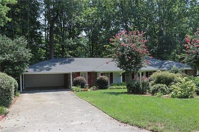 Sandy Springs Single Family Home For Sale: 5845 Brookgreen Road