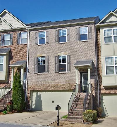 Brookhaven Condo/Townhouse For Sale: 3668 Gambrell Lane NE