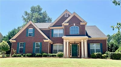Suwanee Single Family Home For Sale: 4020 Hillcrest View Court