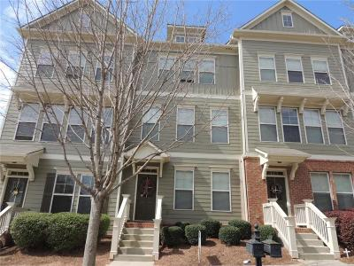 Suwanee Condo/Townhouse For Sale: 4403 Village Field Place