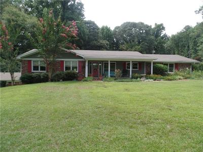 Stockbridge Single Family Home For Sale: 1807 Old Conyers Road